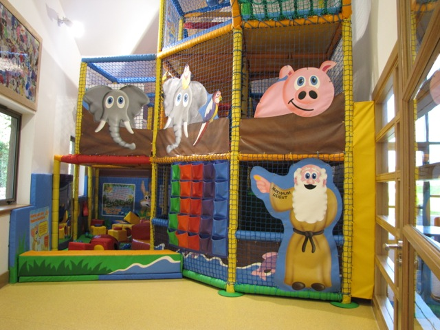 Noah's ark and soft play area