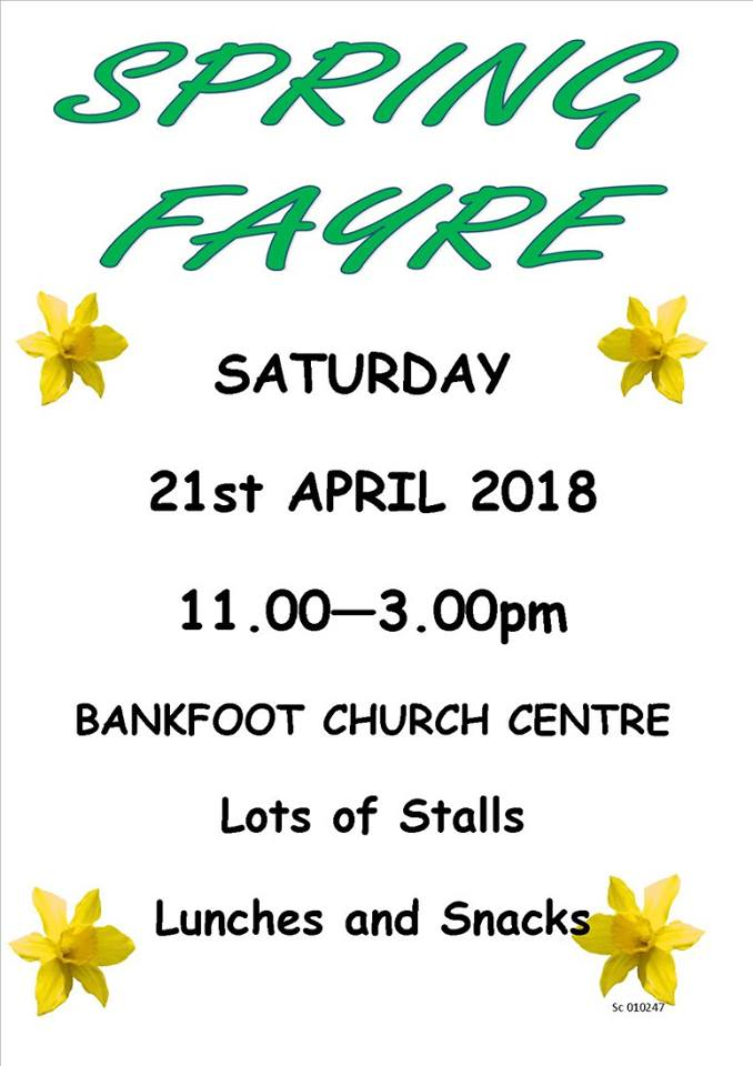 spring fayre from facebook
