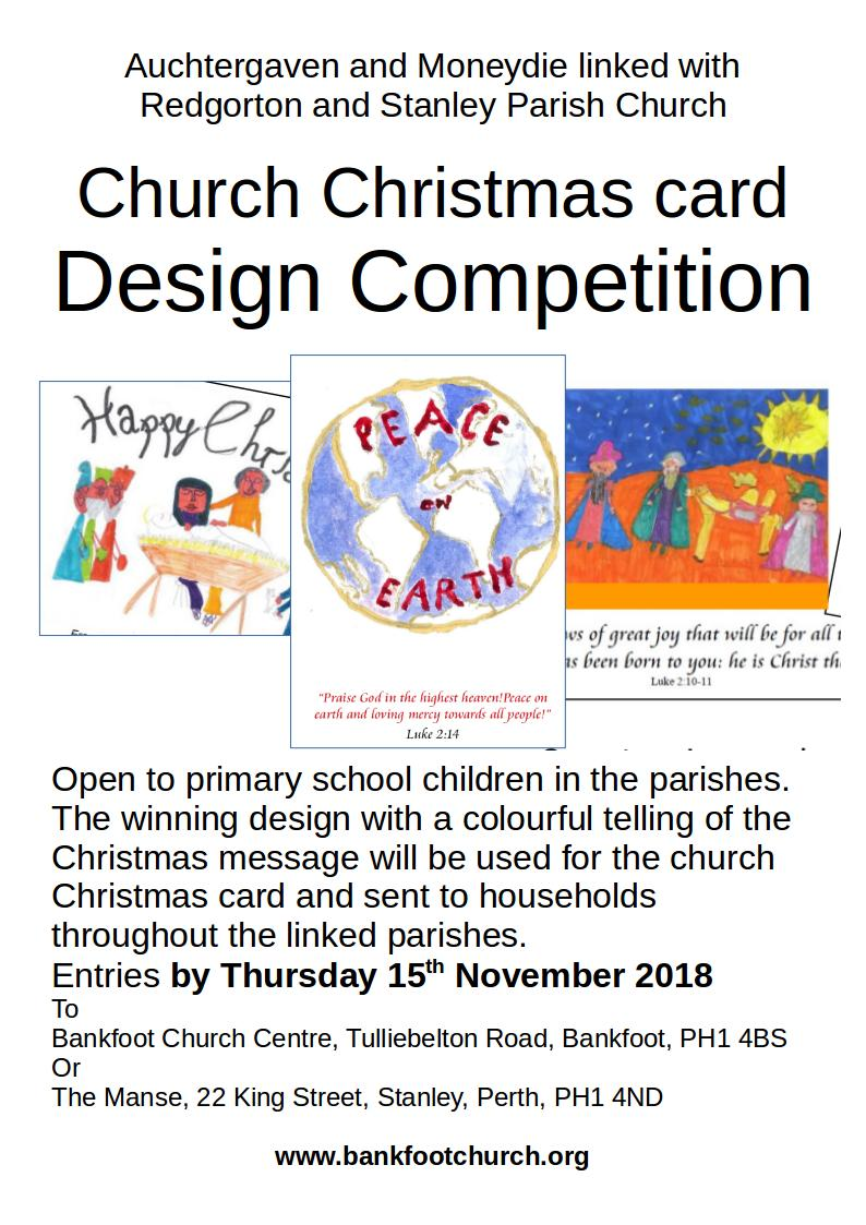 church christmas card competition poster2018v4