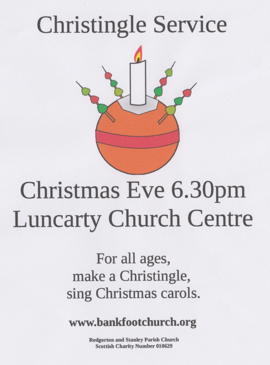 christingle flier