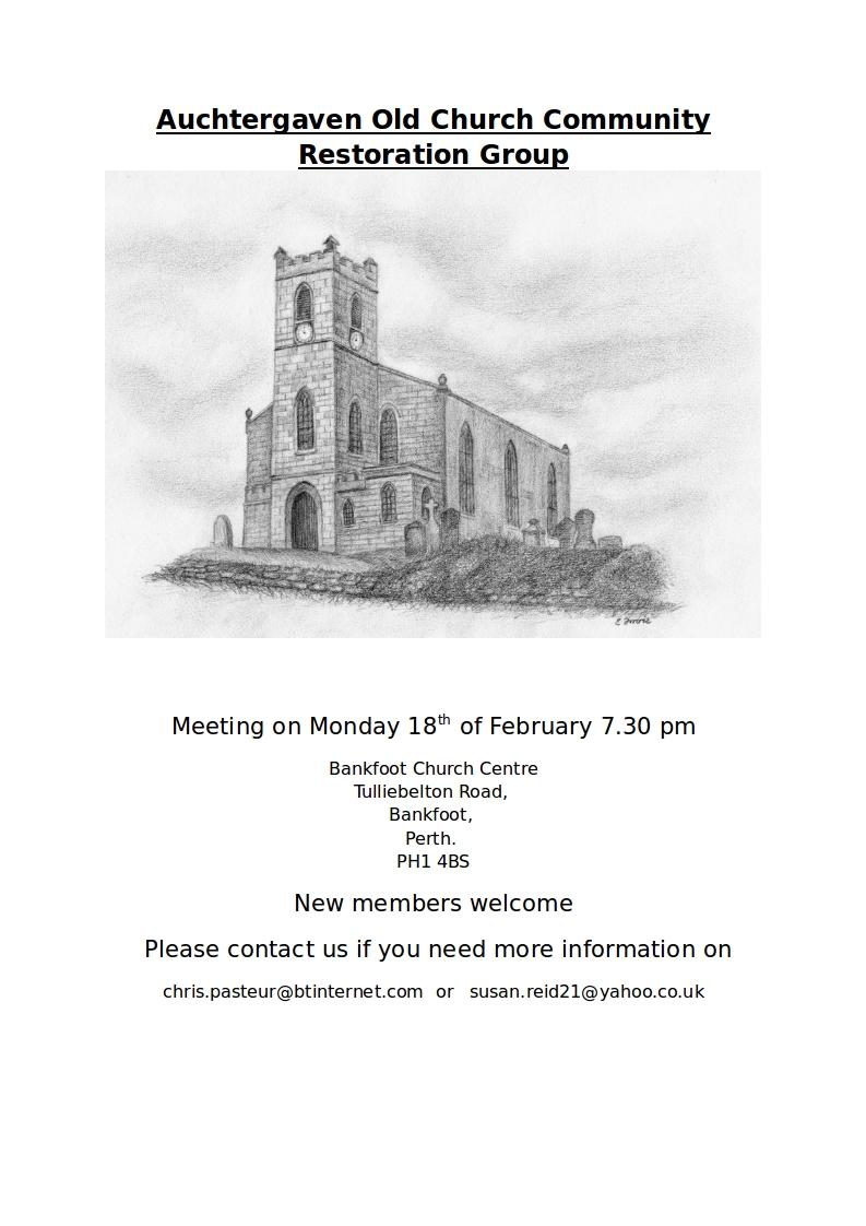 Auchtergaven Old Church Community
