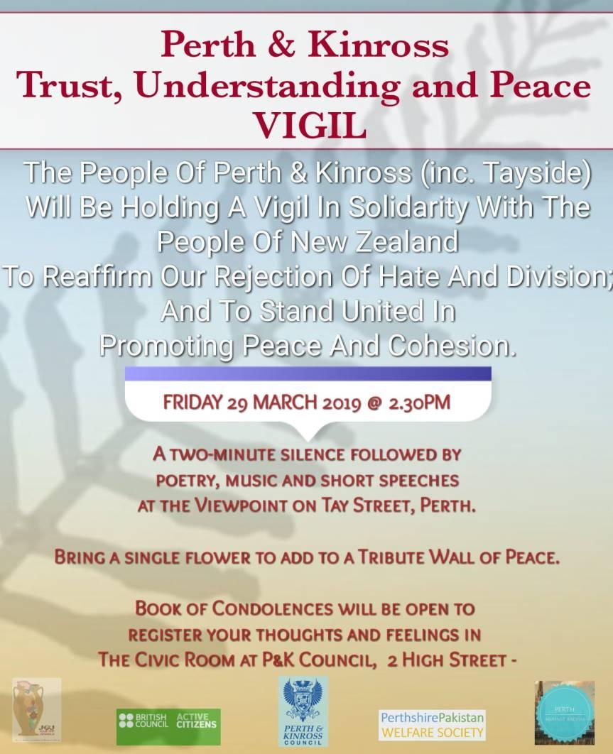 Trust, Understanding and PeaceVigil