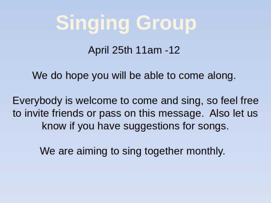 singing group for web