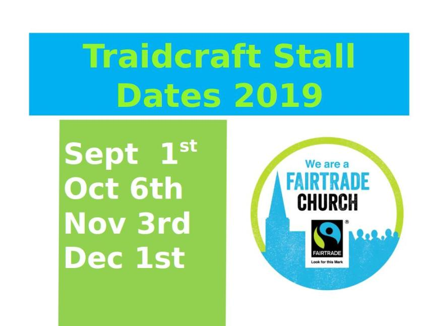 traidcraft dates fiers2019