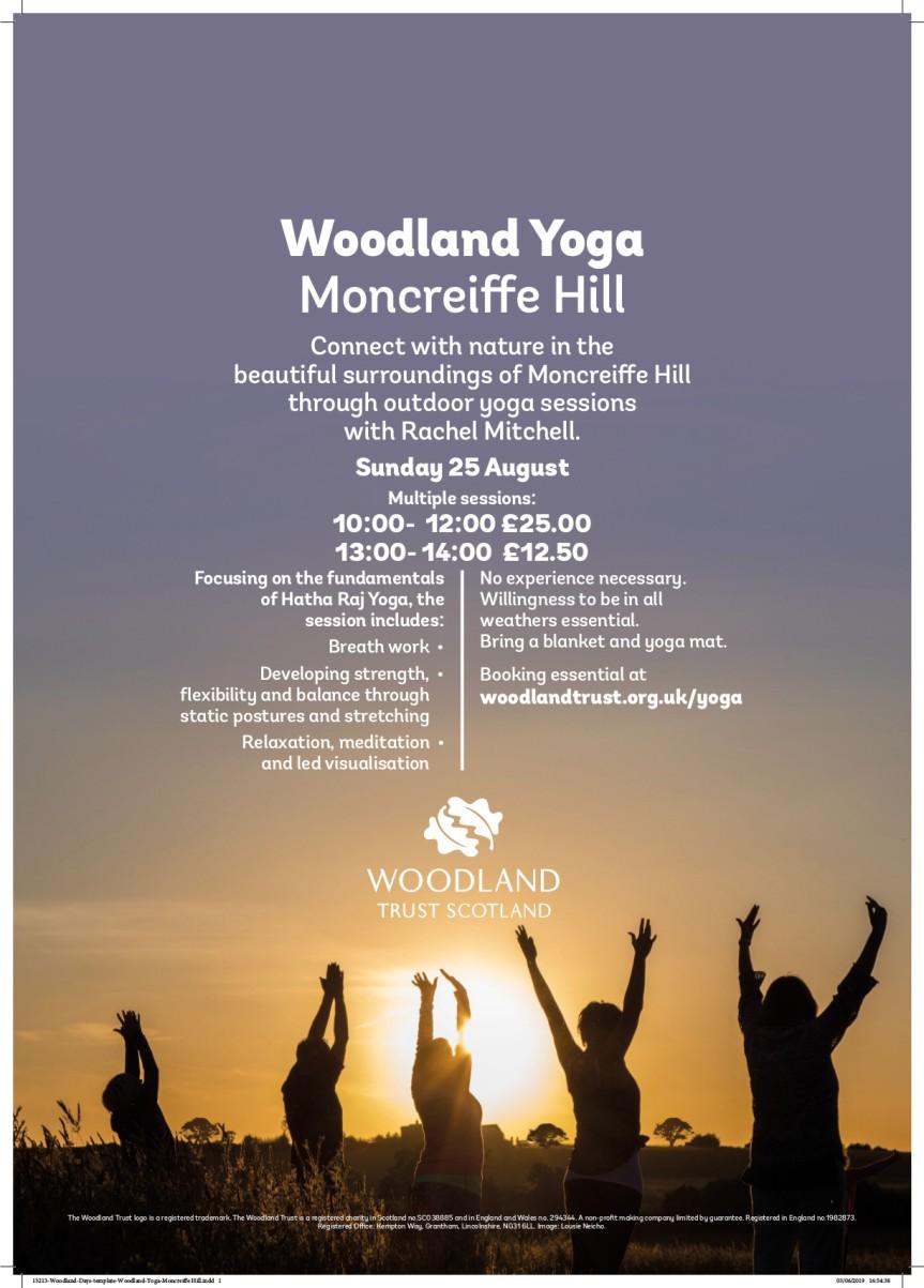 Yoga woodland trust