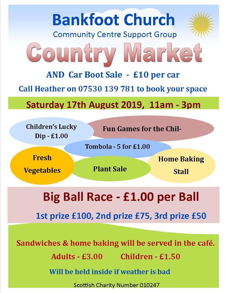 country market poster