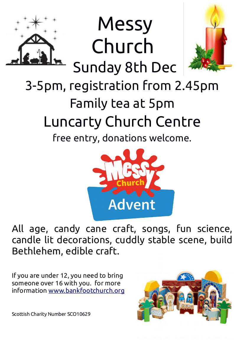 Messy Church flier Dec 2019