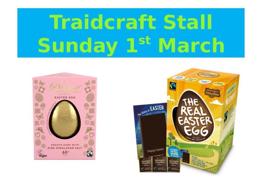 traidcraftstall1 march2020