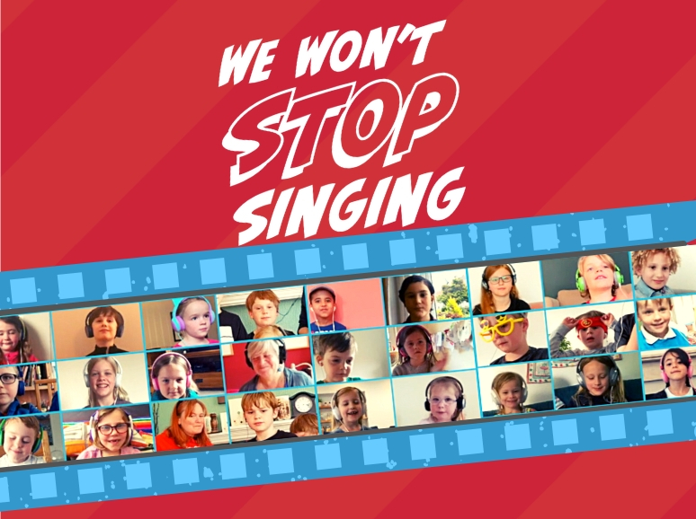 We Won't Stop Singing!